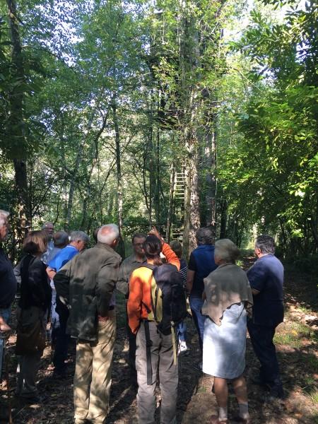 Chemins-Bideak-visite plantation