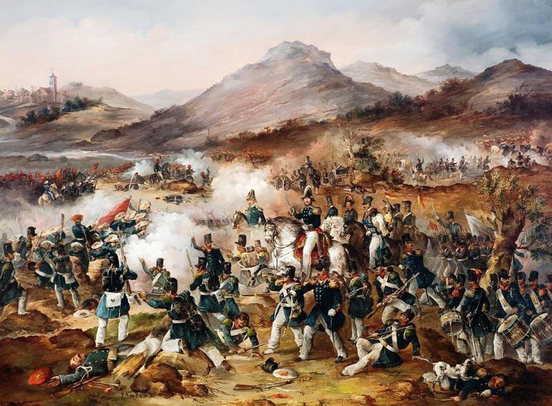 Bataille De La Première Guerre Carliste 1833 1840