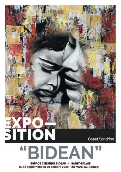 exposition BIDEAN - Sandrine cadet -chemins bideak